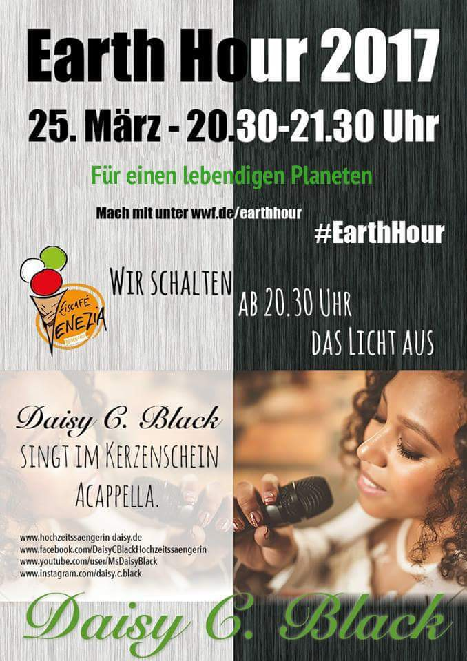 Earth Hour - Eiscafé Venezia, in Birkenfeld